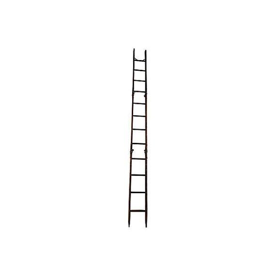 Image of Vintage Tri-Fold 15 Ft Ladder