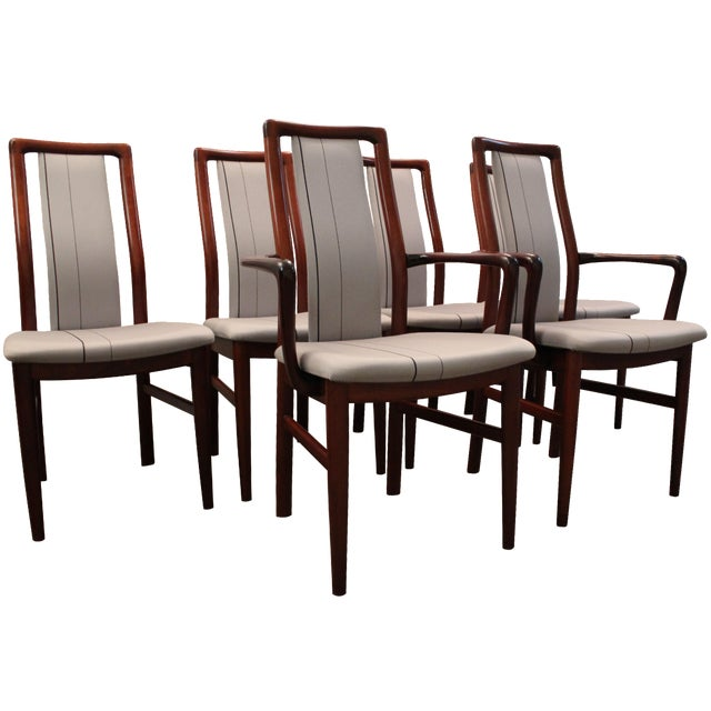 Danish Modern Mobler Rosewood Dining Chairs  Chairish