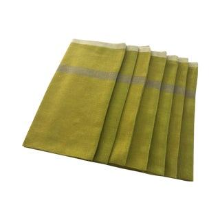 Handwoven Linen Napkins - Set of 7