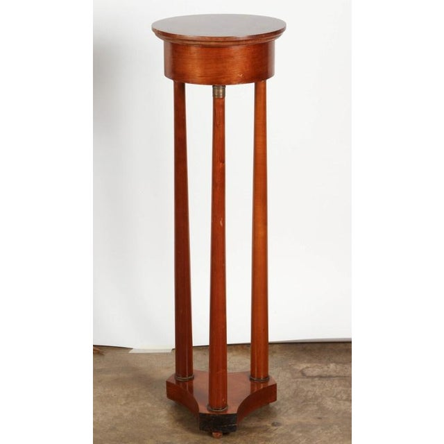 Early 19th Century Danish Mahogany Pedestals - Image 2 of 8