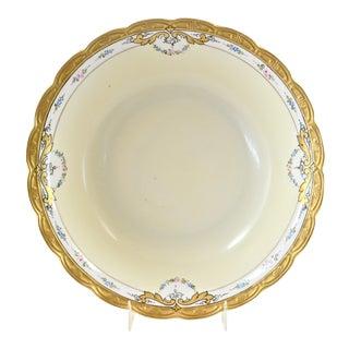 1920s Bavarian Gold Gilt Porcelain Bowl