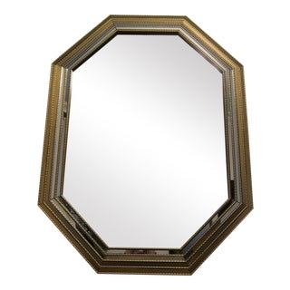 Gold Antique Style Beveled Mirror