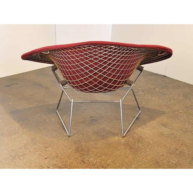 Vintage Large Bertoia Diamond Chair by Knoll - Image 9 of 10
