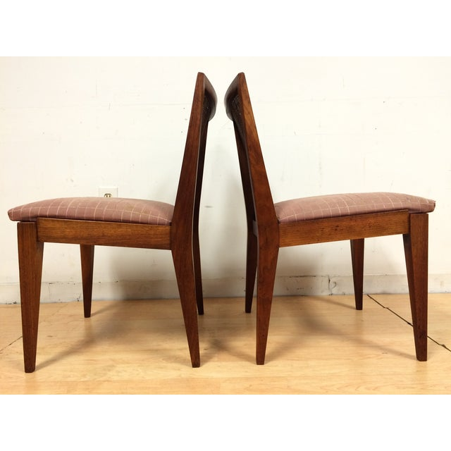 Edward Wormley Cane Back Chairs - A Pair - Image 7 of 11