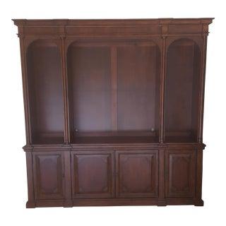 Bernhardt Hardwood Bookcase Display Cabinet