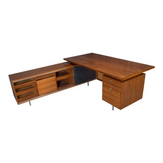 George Nelson for Herman Miller Executive L-Shaped Desk Unit