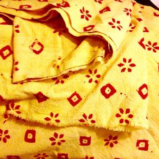 Vintage Hand Blocked Textile