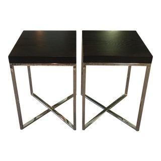 Safavieh Ebony Wood End Tables - A Pair