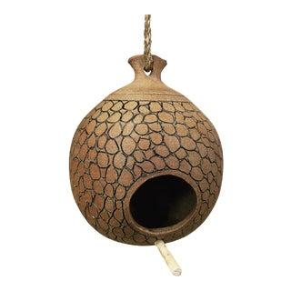 Brent Bennett Ceramic Birdhouse