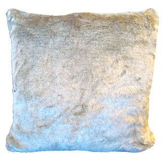 X-Large Down Faux Fur Pillow