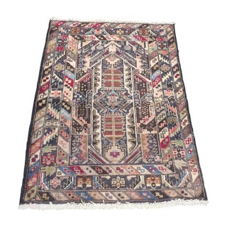 Vintage Baluchi Handmade Persian Rug