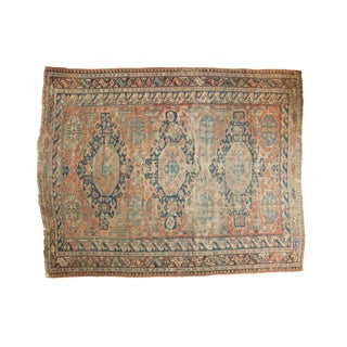"Antique Caucasian Soumac Carpet - 8'1"" x 10'3"""