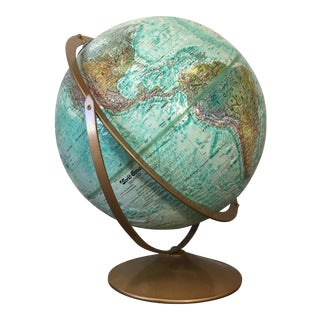 Vintage World Globe by Replogle