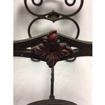 Image of Art Deco Iron Side Table