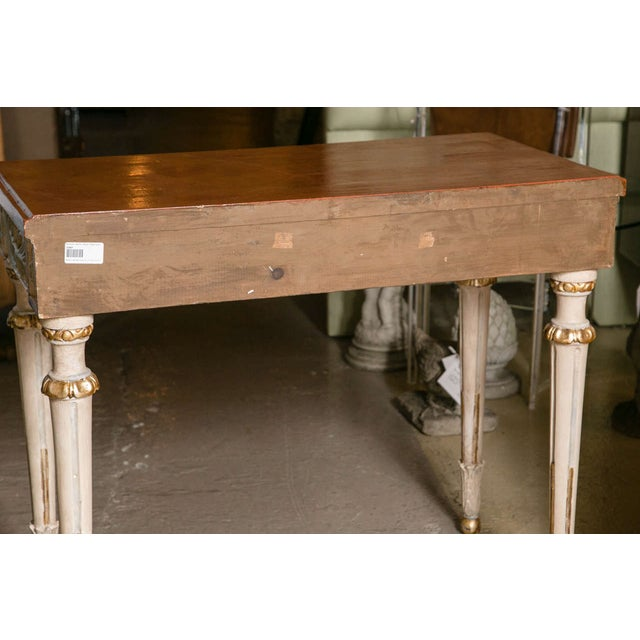 Swedish Paint Decorated Console Tables - A Pair - Image 8 of 8