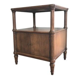 C 1920 Davis Chambord Walnut End Table