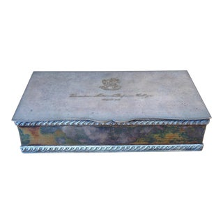 Silverplated Jewelry Box