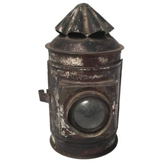 New England Tin Whale Oil Lantern