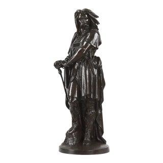 Aime Millet Bronze Sculpture of Vercingetorix