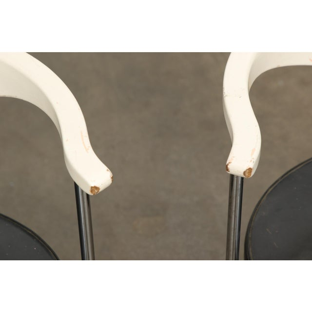 Frederik Sieck for Fritz Hansen Chairs - Set of 4 - Image 8 of 11