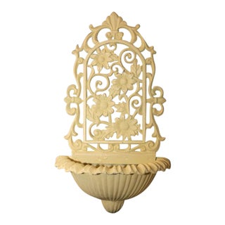 Cast Iron Wall Sconce Planter