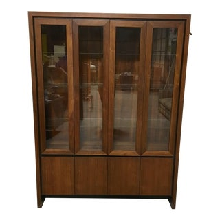 Maurice Villency Danish Modern China Cabinet