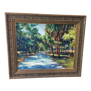 Lowcountry Landscape Oil Painting