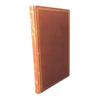 'Impromptu Speech' Leather Book