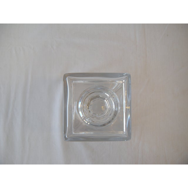 Image of Square Crystal Decanter