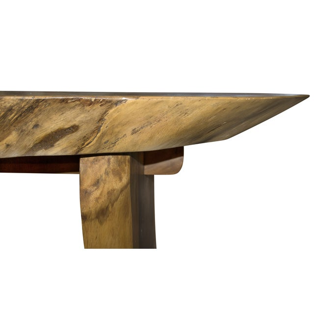 Oval Suar Wood Dining Table - Image 3 of 3