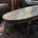 Image of Mid-Century Surfboard Marble Coffee Table