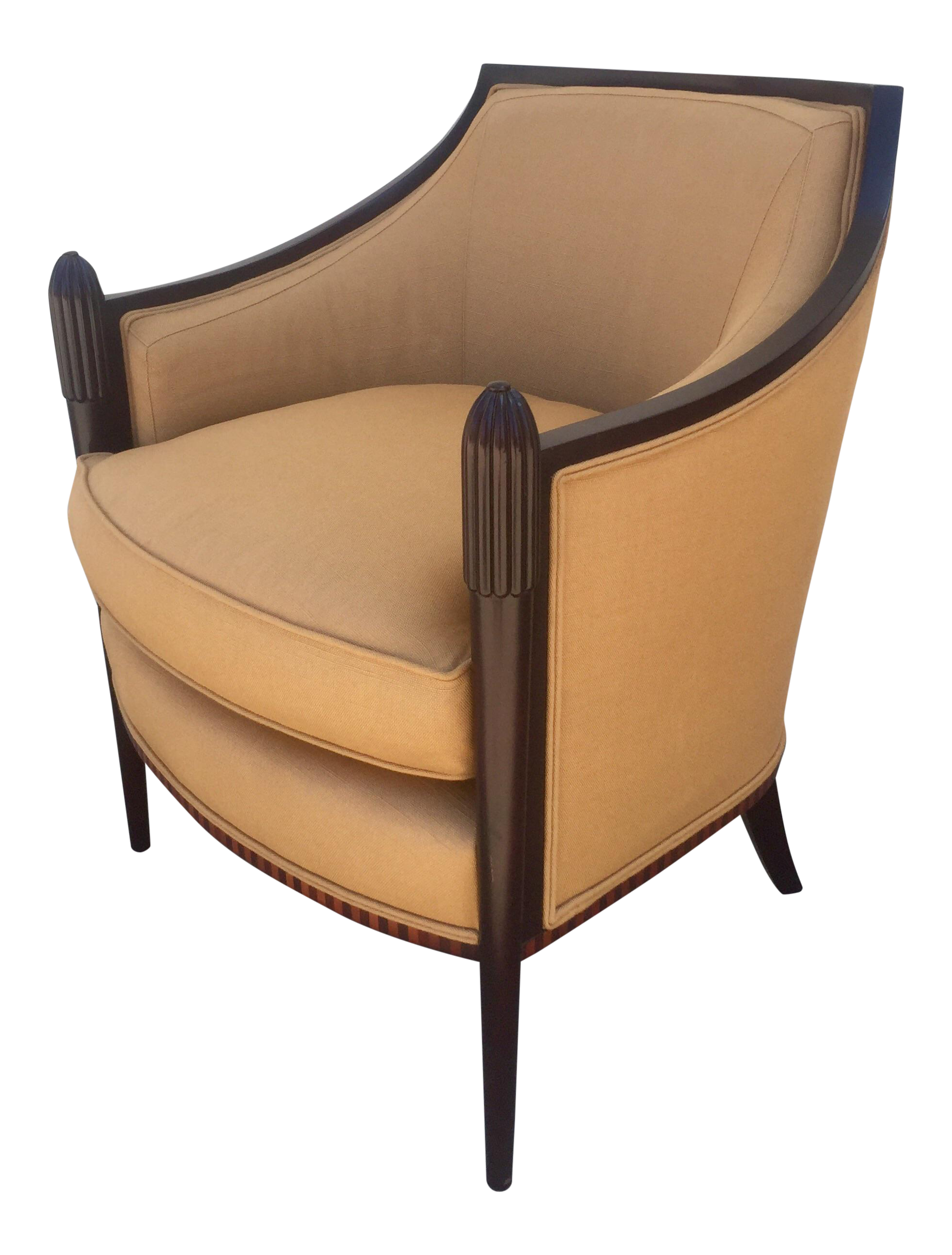 Barbara Barry Deco Classic Lounge Chair   Image 1 Of 6