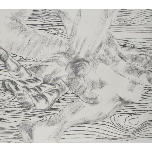 1980's Frank Van Hermert Diptych Drawings - Image 3 of 5