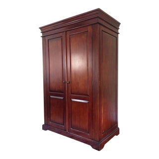 Classic Wood Armoire