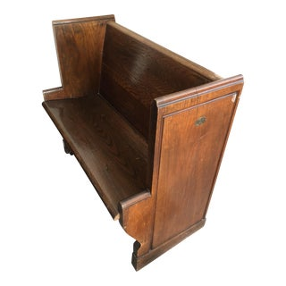 Wooden Pew Bench