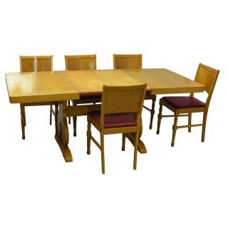 Mid-Century Scandinavian Dining Set