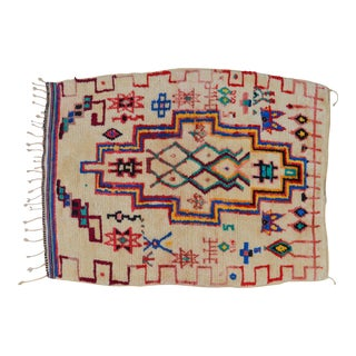 Vintage Moroccan Azilal Rug - 5'5'' x 3'11''