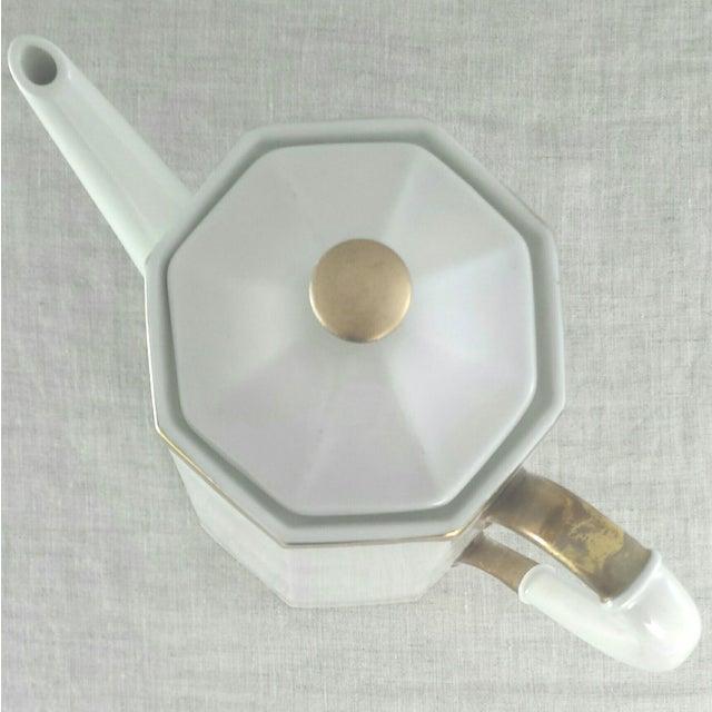 Geometric Octagonal Coffee Pot - Image 4 of 9