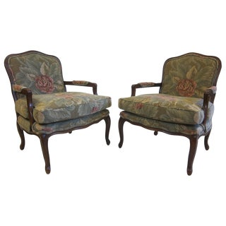 Century Furniture Bergeres Chairs - A Pair