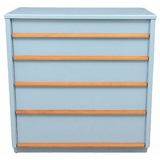 Drexel Pale Blue Chest of Drawers