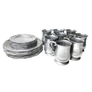 Crown Castle Aluminum Alloy Dinnerware