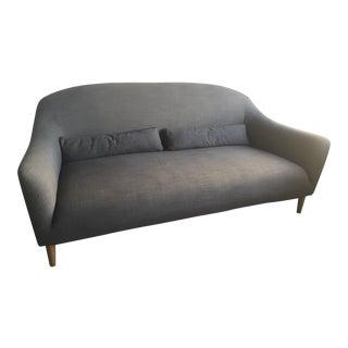 Mid-Century Danish Modern Gray Sofa