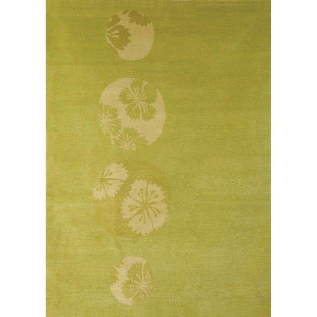 """""""Glimpse Flower"""" Rug by Emma Gardner - Image 3 of 3"""
