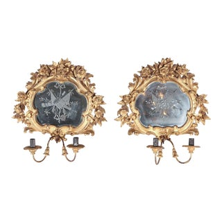 19th Century, French Wall Sconces