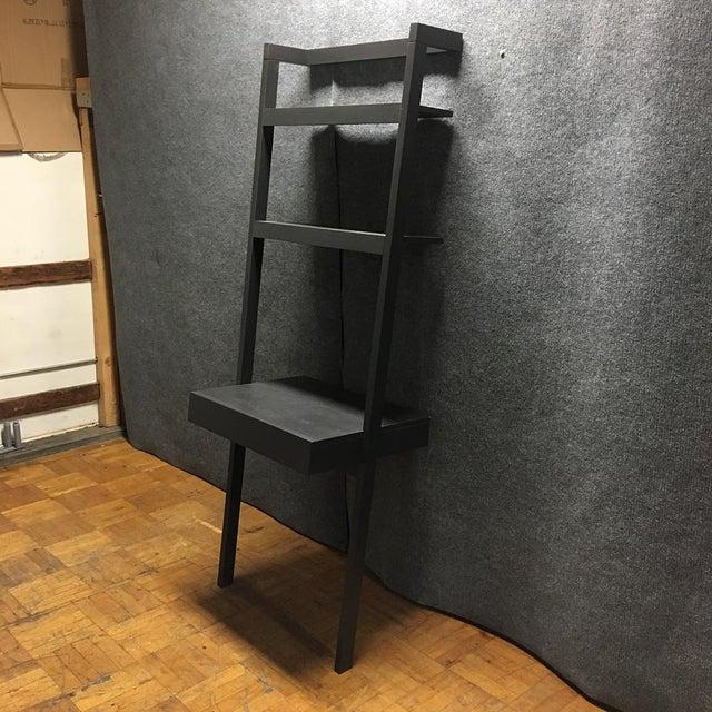 Crate Barrel Sawer Mocha Leaning Desk Chairish