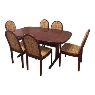 Skovby Rosewood Dining Set