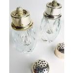Image of Midcentury Crystal Salt & Pepper Grinders -3
