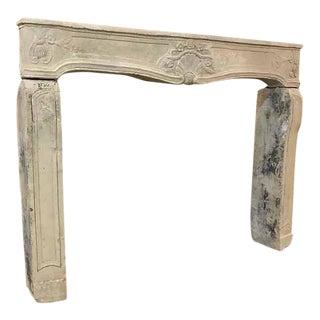 Antique Limestone Mantel