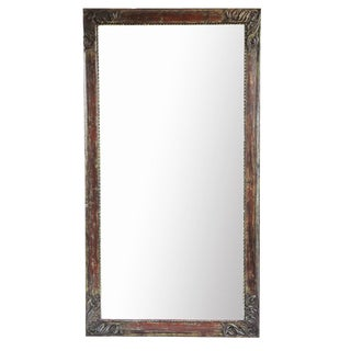 Vintage Architectural Full Length Mirror