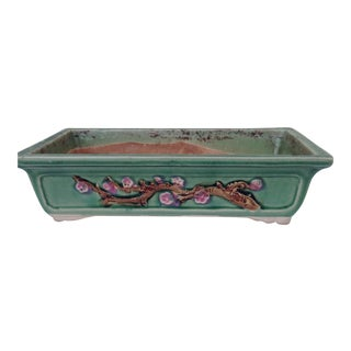 Vintage Asian Pottery Planter